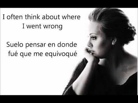 Adele Dont You Remember Subtitulos En Ingles Y Espanol