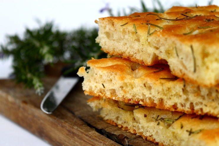 The Best Ever Homemade Rosemary Focaccia Bread - Studio 5