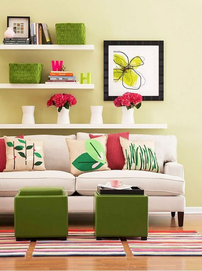 Spring Color Home Decor Living Rooms. With Every Passing Year