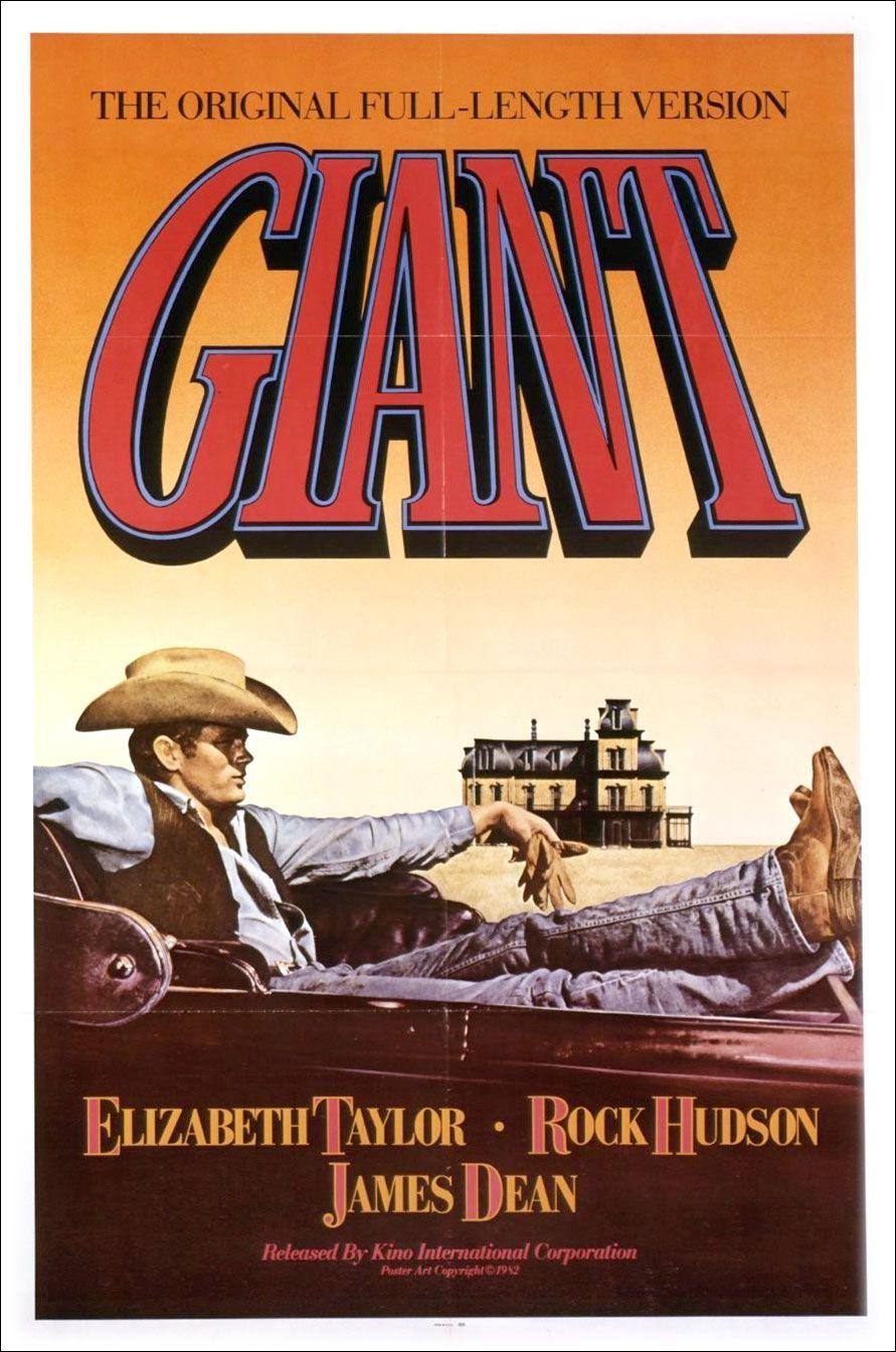 George Stevens Giant Warner Bros Distributor C 1956 Based On