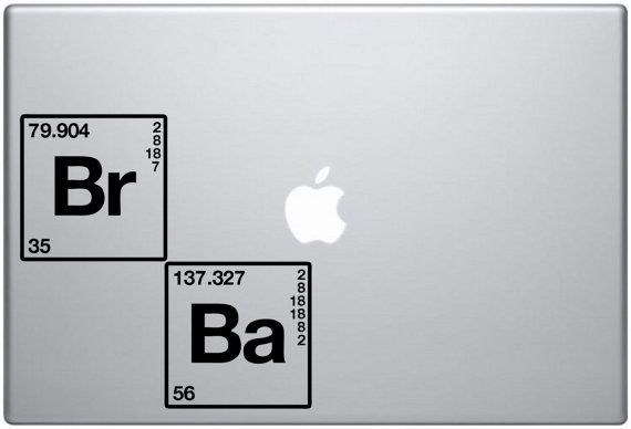 Breaking bad title periodic table br ba vinyl decal por abcdecal breaking bad title periodic table br ba vinyl decal por abcdecal urtaz Images