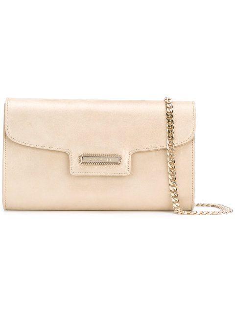 6d0f0aff39022 CASADEI Chain Detail Clutch Bag.  casadei  bags  leather  clutch  hand
