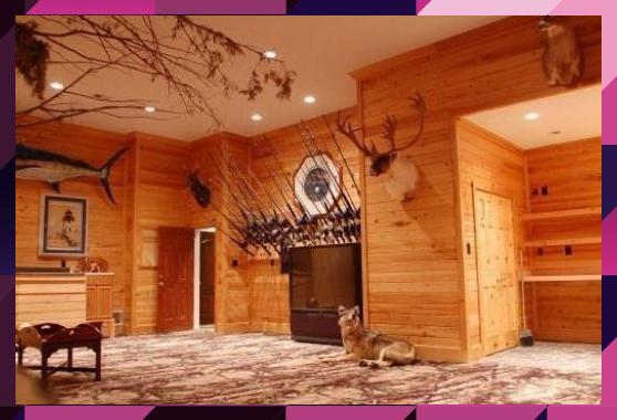 Photo of Design inspiriert von Nature Man Cave #Recreationalroom #Recreational #room # …..