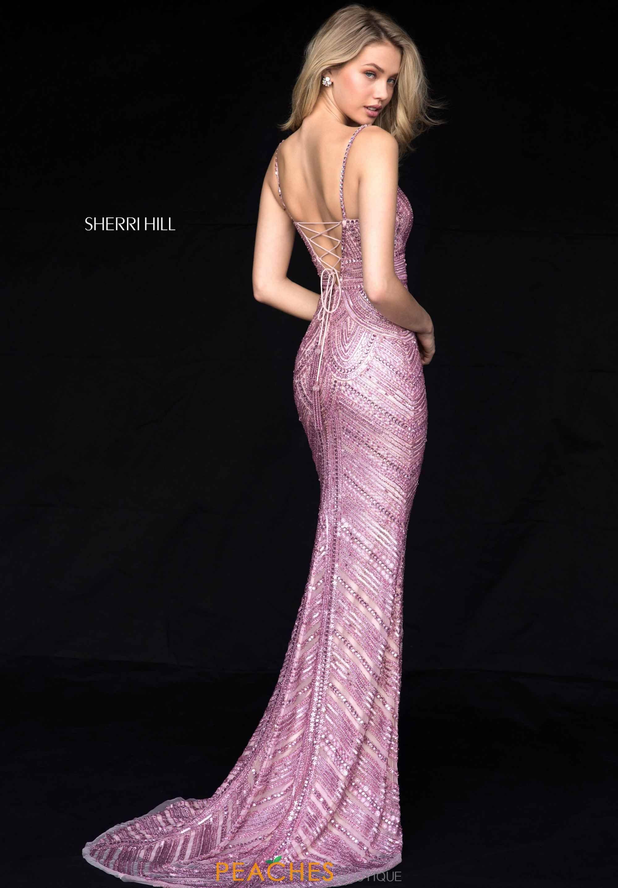 Light pink vestidos de noche pinterest sherri hill prom