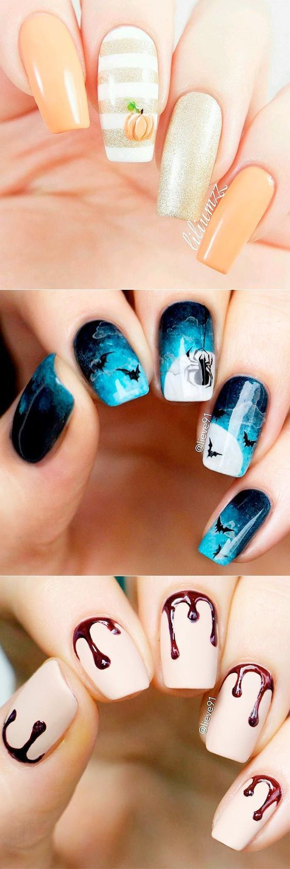33 Spooky Halloween Nail Designs for More Fun | Halloween nail ...