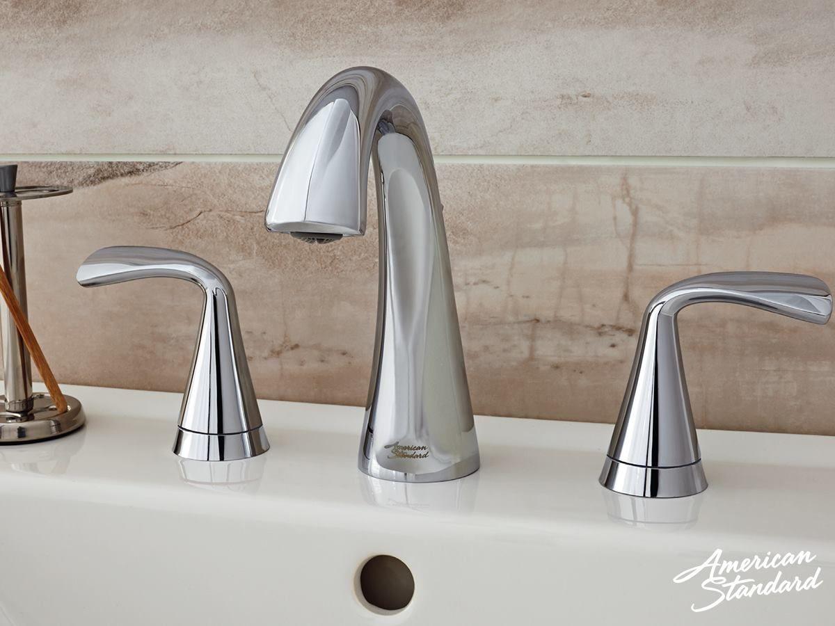 American Standard Fluent Two Handle Widespread lav faucet | Bathroom ...