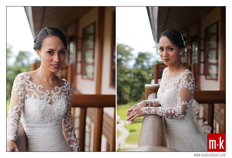 Gown by Cecilio Abad