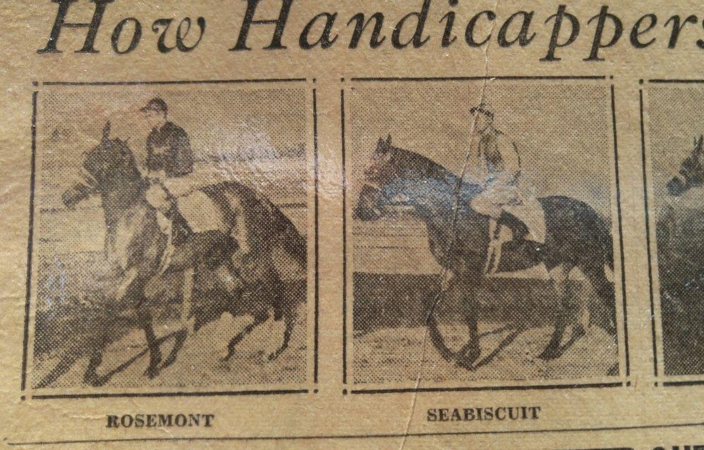FEB 25, 1937 NEWSPAPER PAGE #J5407- SEABISCUIT, $100,000
