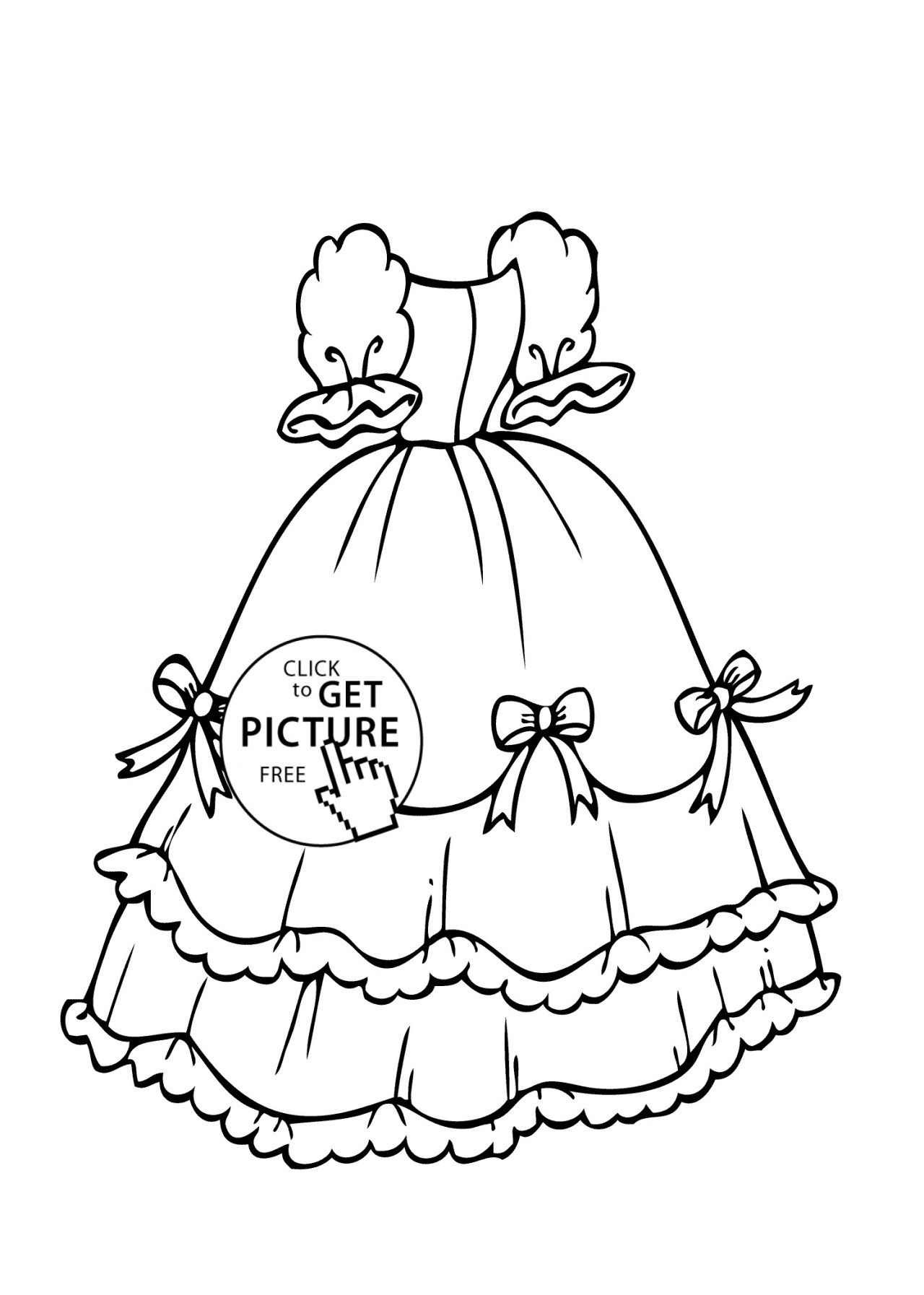 25 Creative Picture Of Dress Coloring Pages Entitlementtrap Com Coloring Pages For Girls Free Coloring Pages Coloring Pages