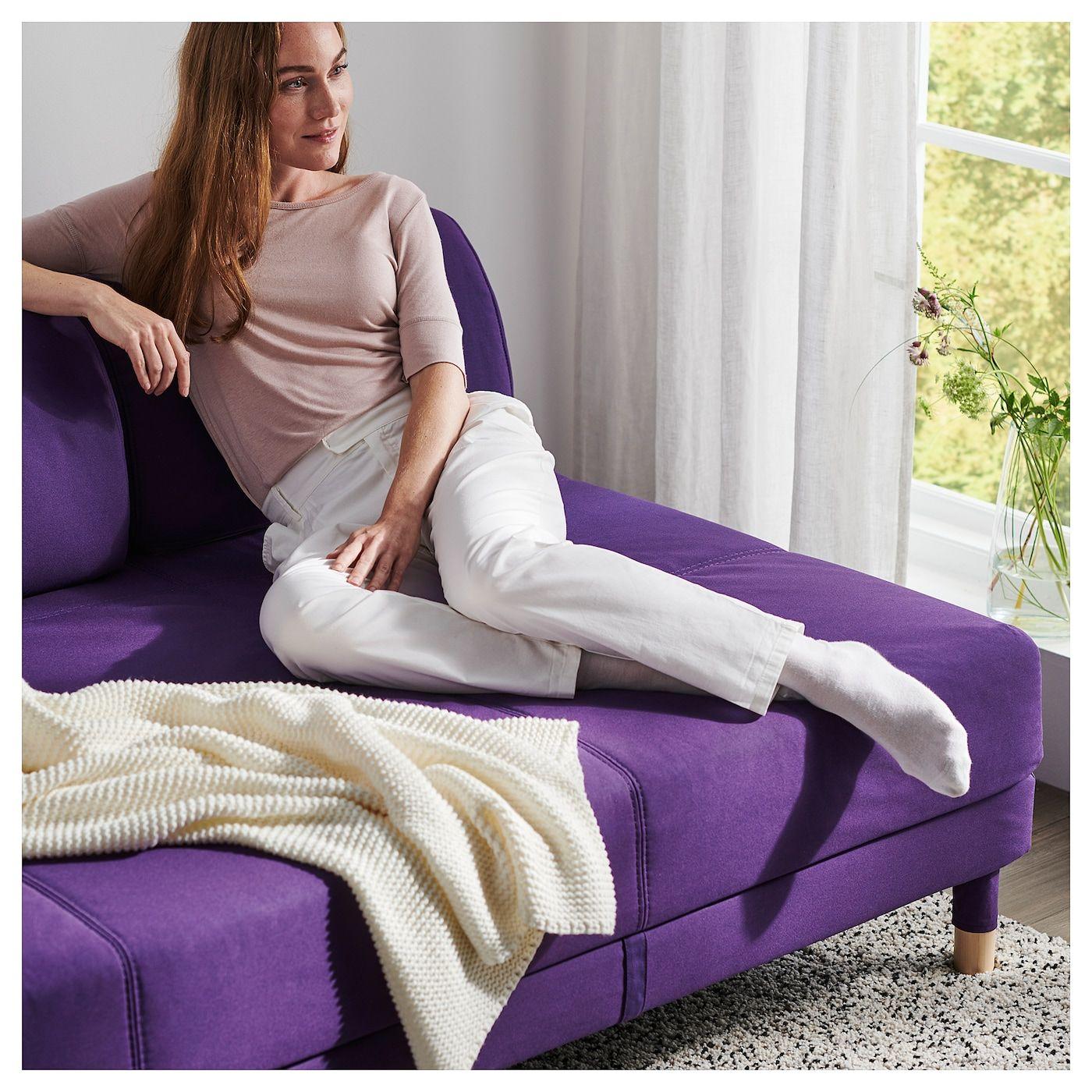 Flottebo Sleeper Sofa With Side Table Vissle Purple 47 1 4 Sleeper Sofa Sofa Sleeper Sofa Mattress