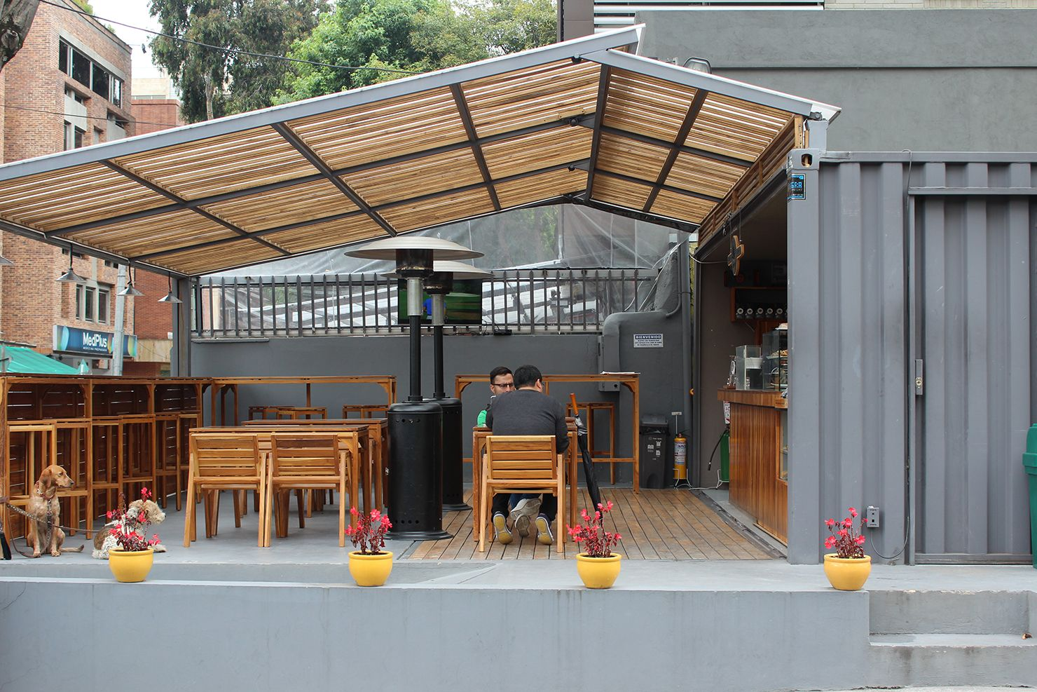 Desain Cafe Container 5 Places To Drink Great Coffee In Bogotá Desain Cafe Shipping