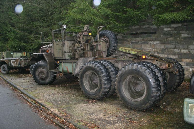 M123 Truck Tractor | military vehicles | Army vehicles