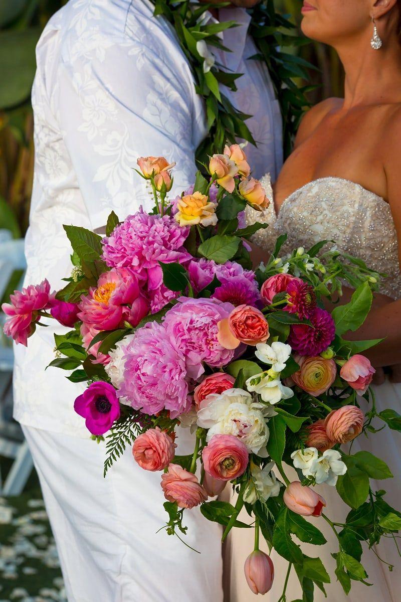 Tropical Themed Destination Wedding In San Diego Destination Wedding Details Tropical Wedding Bouquets Beach Wedding Flowers Destination Wedding