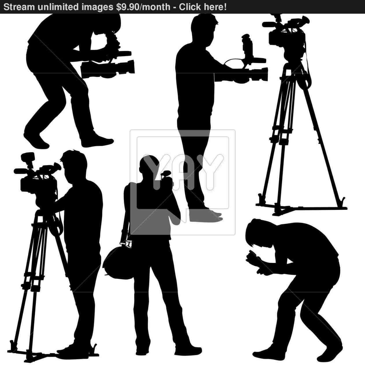 Film Camera Silhouette Camera Silhouette Silhouette People Silhouette