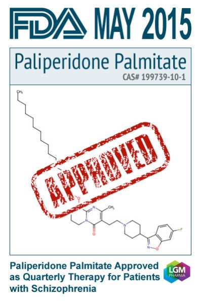Paliperidone Approved As Quarterly Therapy For
