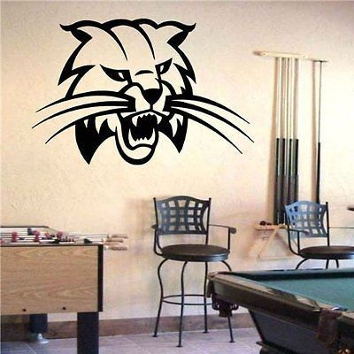 Ohio Bobcats Logo Emblem NCAA Wall Art Sticker Decal (S684)