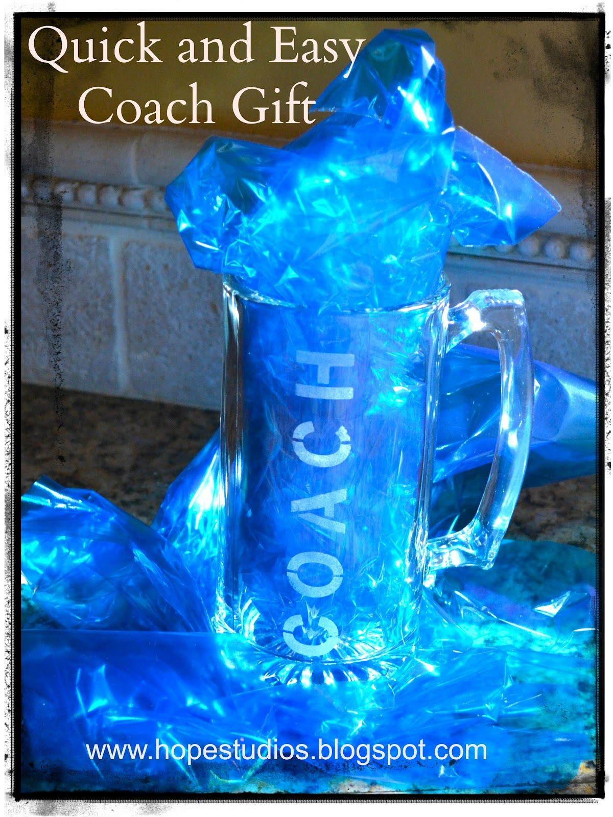 This year I turned to Pinterest to help me figure out what to get our football coaches.  I saved some of the ideas I found onto my  Coach...