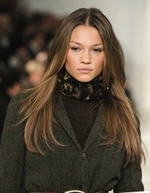 Love this bronzed ombre hair color