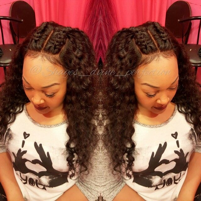 Frontal Sew In 〰 Ig Shayes Dvine Perfection Fb Shaye
