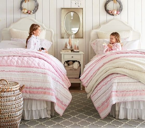 Addison Rug Girl Room Girls Twin Bed Cottage Furniture