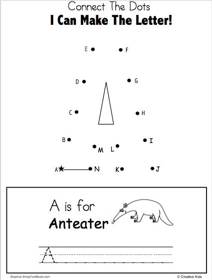 42+ Writing dots worksheets Top