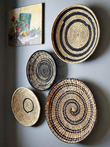 Affordable Art Finds Inexpensive Wall Art Basket Wall Art