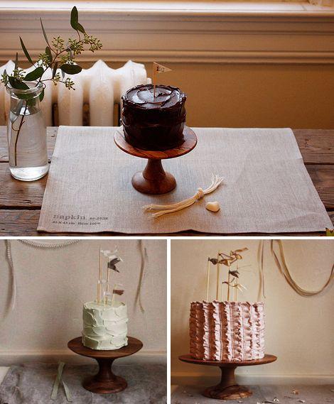 Herriott Grace: cake pedestals