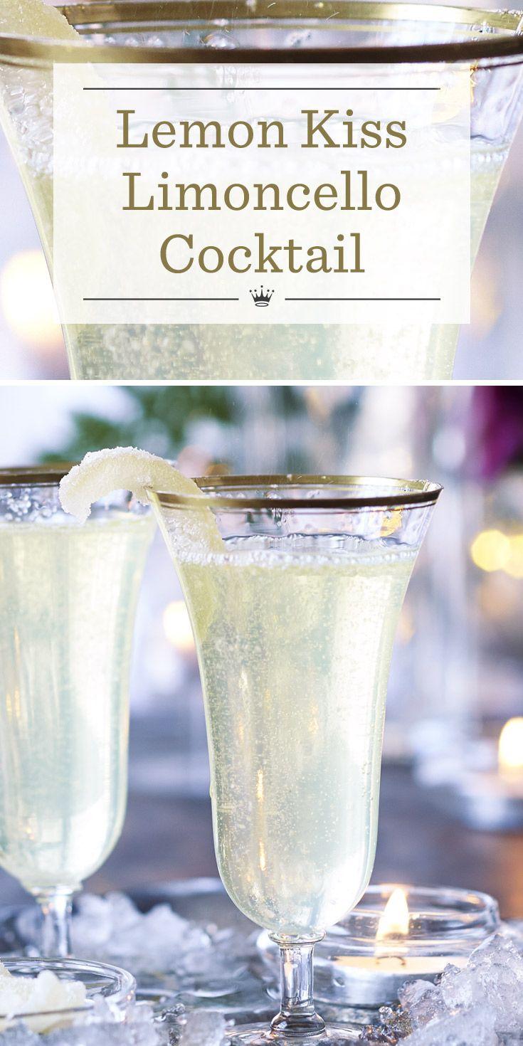 Lemon kiss limoncello cocktail #limoncellococktails