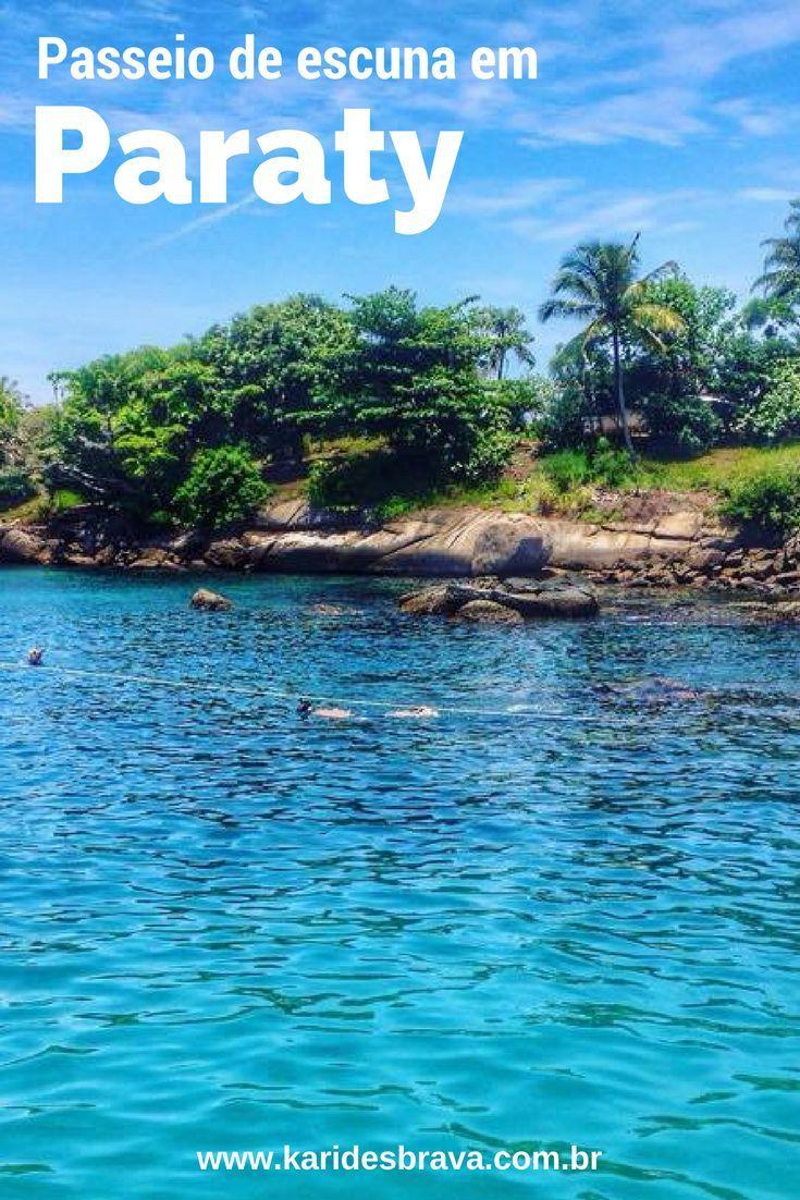 Passeio De Escuna Em Paraty Viagem Brasil