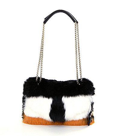 c4c99ddb7069 Furla Bella M Fur CrossBody Bag  Dillards