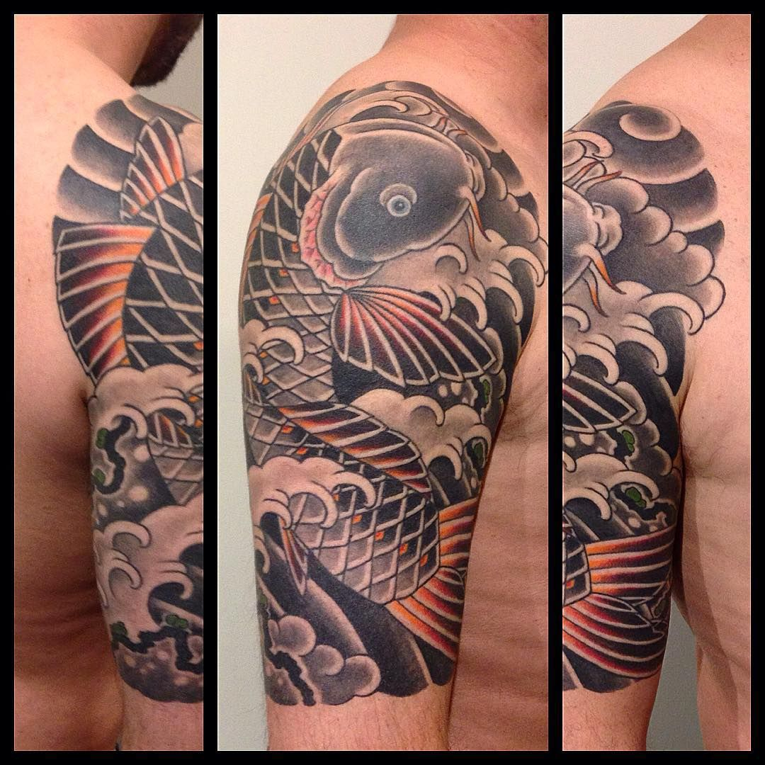 45 amazing japanese tattoo designs tattoo easily - Koi Fish Tattoo