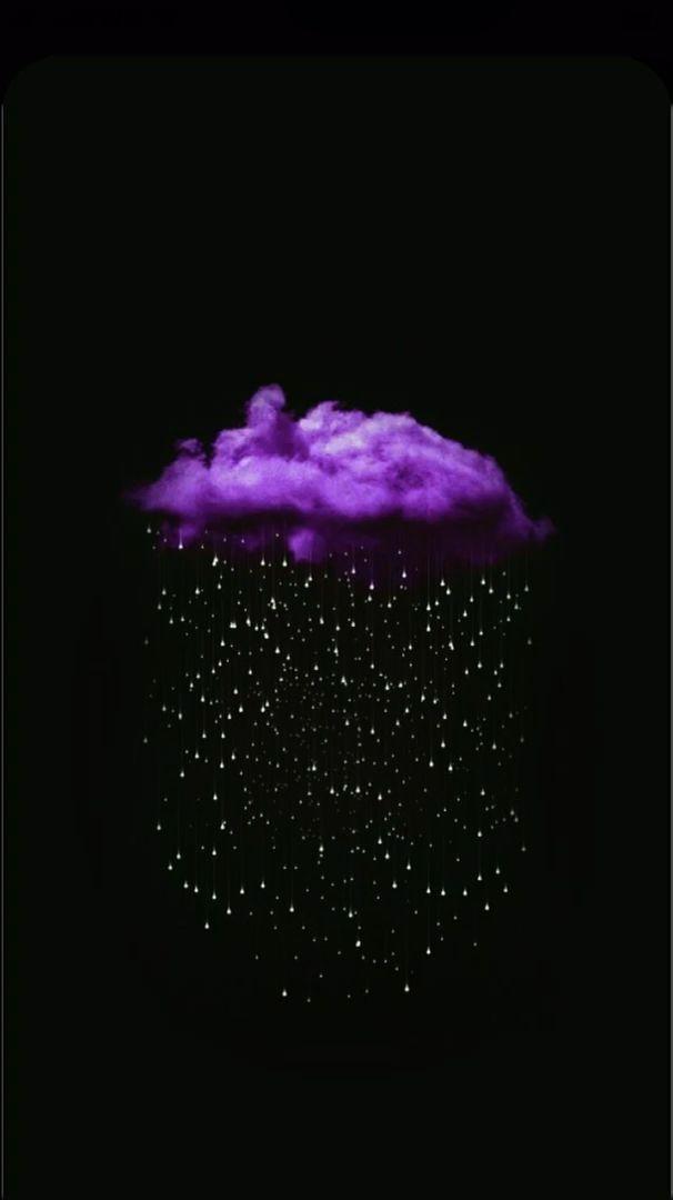 Wallpaper Iphone Videos Purple Art Cloud Snow Video Photo Design Ios Iphone Purple Wallpaper Iphone Black And Purple Wallpaper Purple Wallpaper Dark iphone purple aesthetic wallpaper