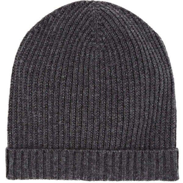 Mens Rib-Knit Wool-Cashmere Beanie Barneys New York AoW3P2WeH