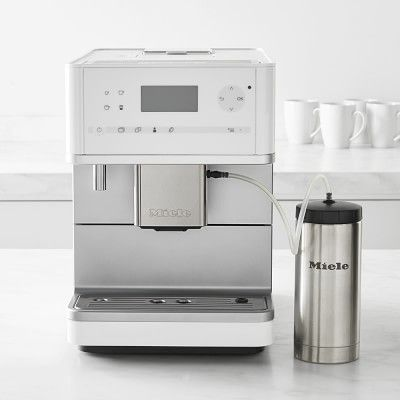 Miele Cm6350 Fully Automatic Espresso Machine White Miele