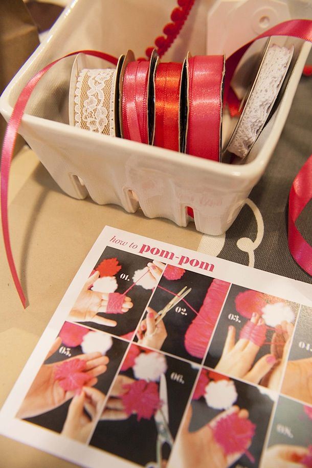Pom Pom Bouquest #AnthroEvents Image Via: Camille Styles