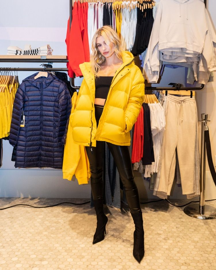 Yes, You Probably Need A Bright Yellow Puffer. Cop Hailey