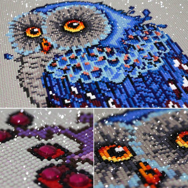 Diamond Painting Handmade Embroidery Kits Animal DIY Needlework Set Cross Stitch