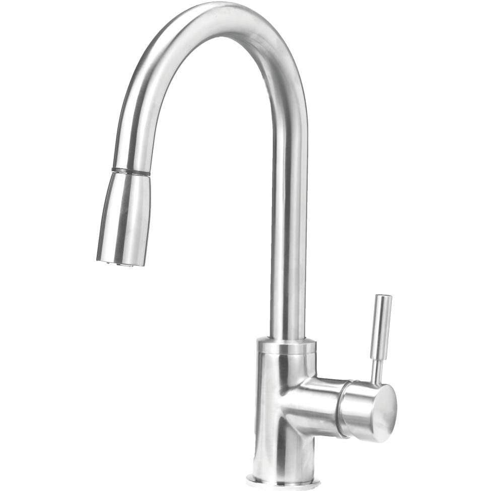Blanco sonoma single handle pull down kitchen faucet stainless