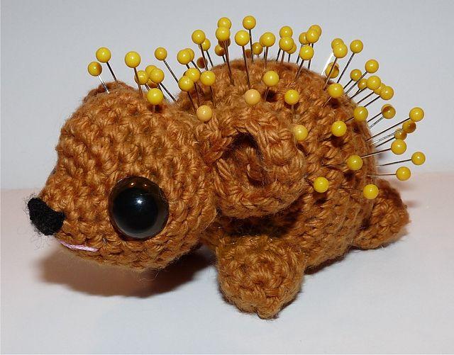 Pokey The Porcupine Pincushion Pattern By Britni Husband