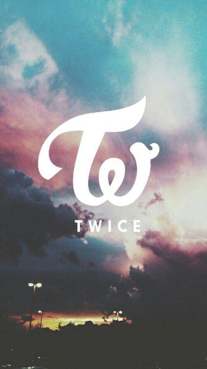 Twice Logo Tumblr Twice 壁紙 Twice ロゴ 携帯電話の背景