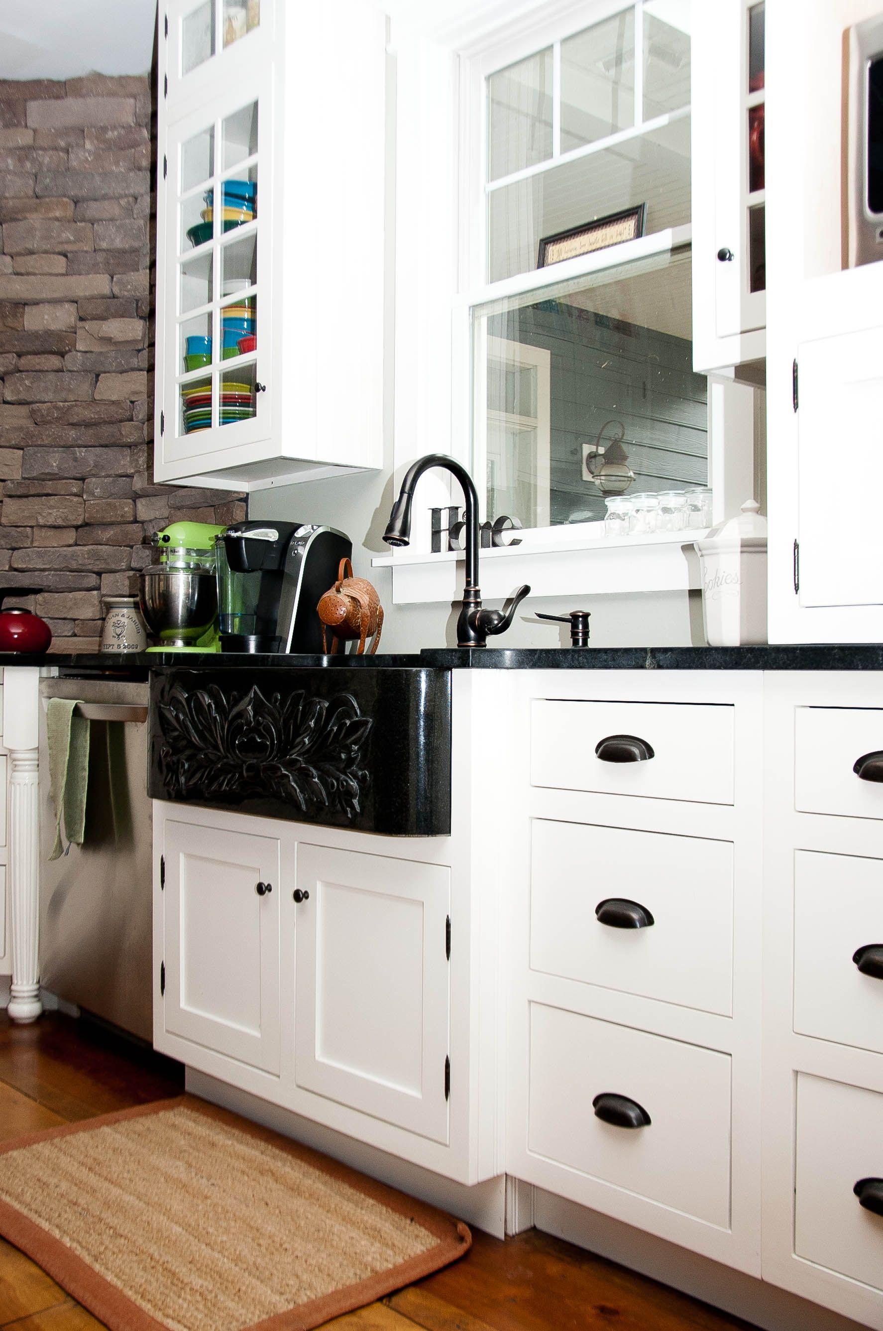 black pull handles kitchen cabinets interior design maverick custom homes sink white