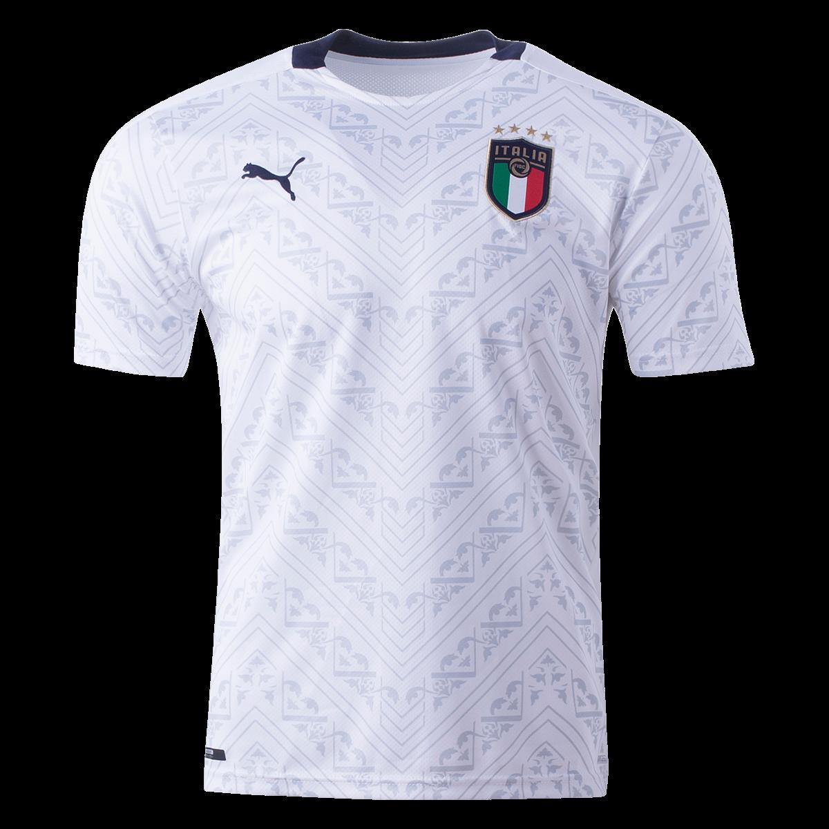 Puma Italy Away Jersey 2020 S In 2020 Jersey Shirt World Soccer Shop Shirts