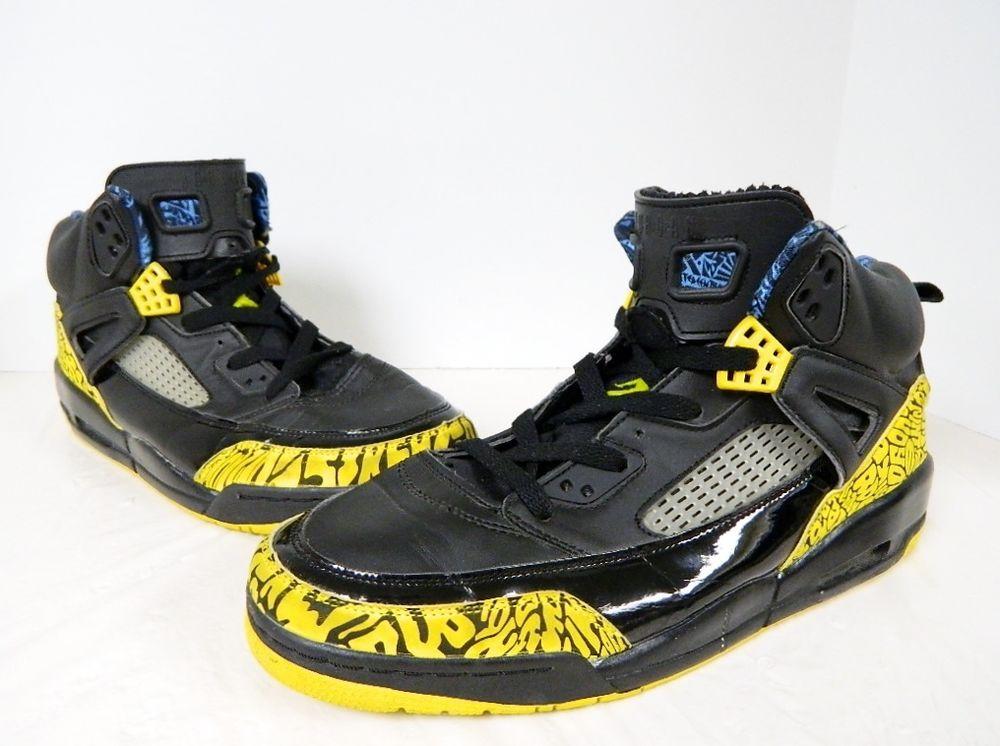 new product 43a1f 9140c Used Nike Air Jordan Spizike Black Yellow Mens Size 12  Jordans   BasketballShoes  ebay  jordans  jordan  spizike  nba  michaeljordan   spikelee  nike ...
