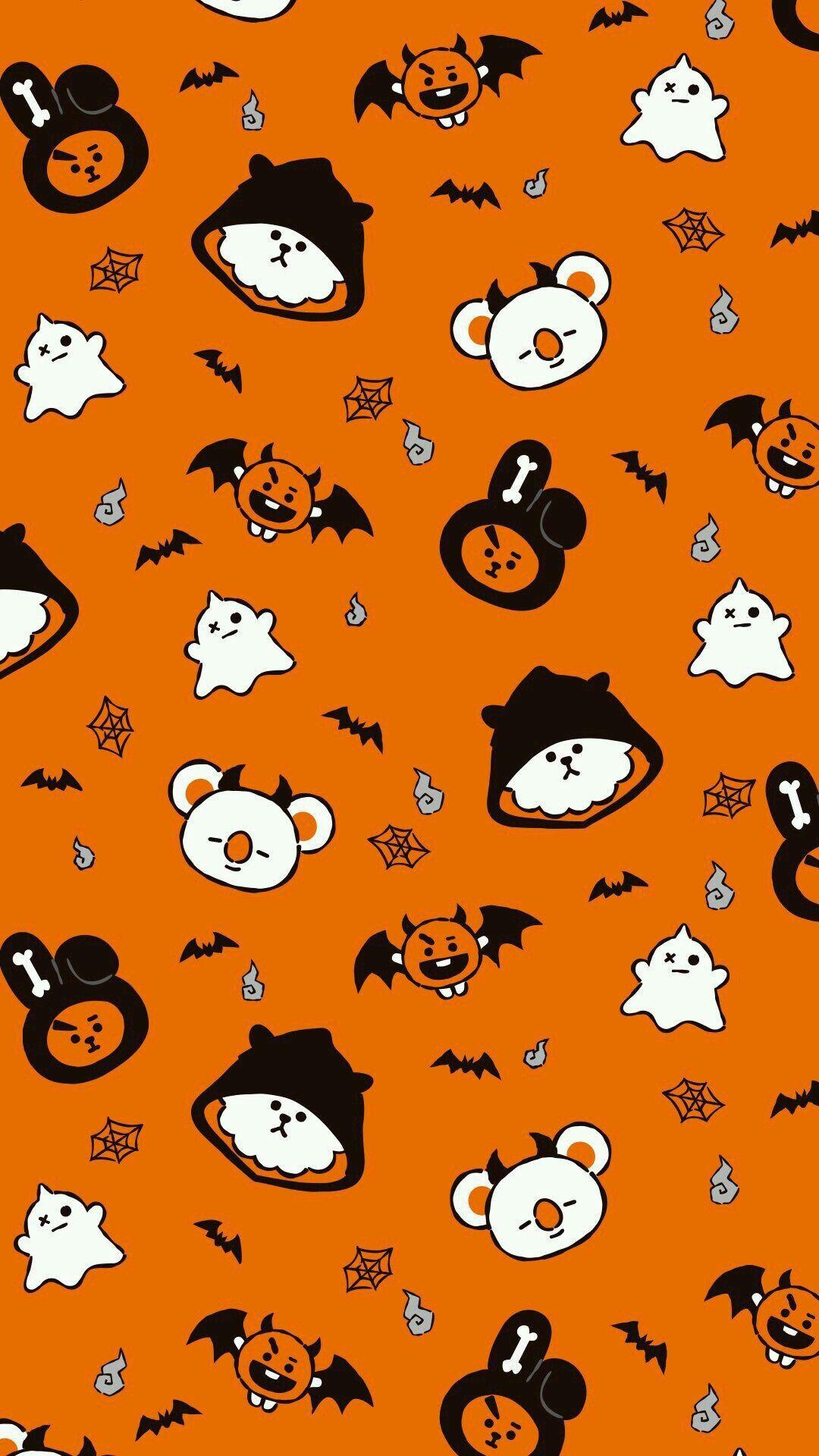 Aririuu ƥihtyeyayeѕt Bts Rj Bt21 Twitter Bangtan Bts Wallpapers Kawaii Aesthet Fondos De Halloween Ilustracion De Halloween Pantallas De Halloween