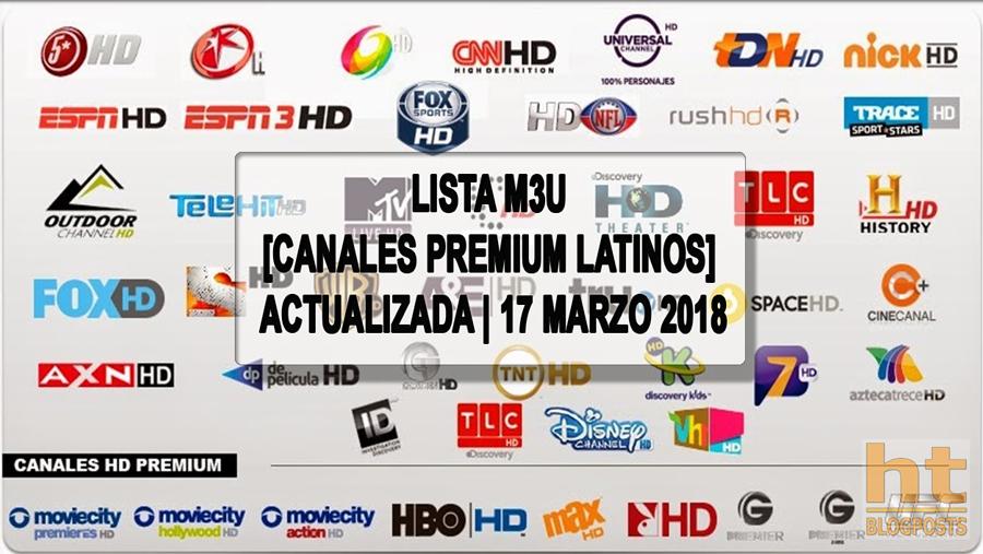 Listas Iptv M3u Lista M3u Canales Premium Latino Actualizada 17 Señal De Television Aplicaciones Para Smart Tv Latinas