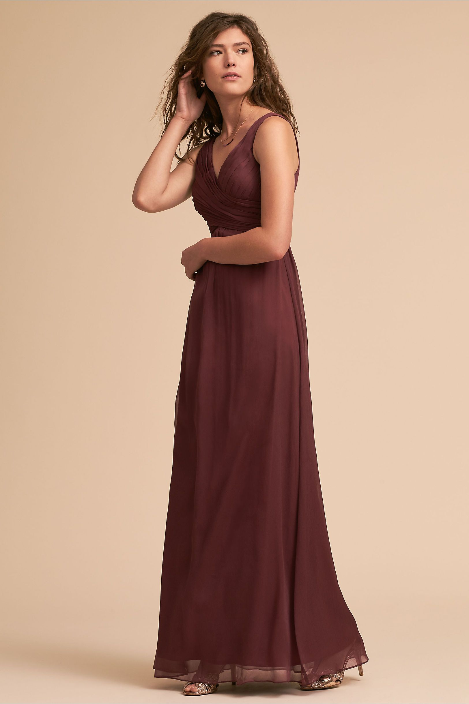 ab59936db61a Burgundy Purple Bridesmaid Dresses - raveitsafe