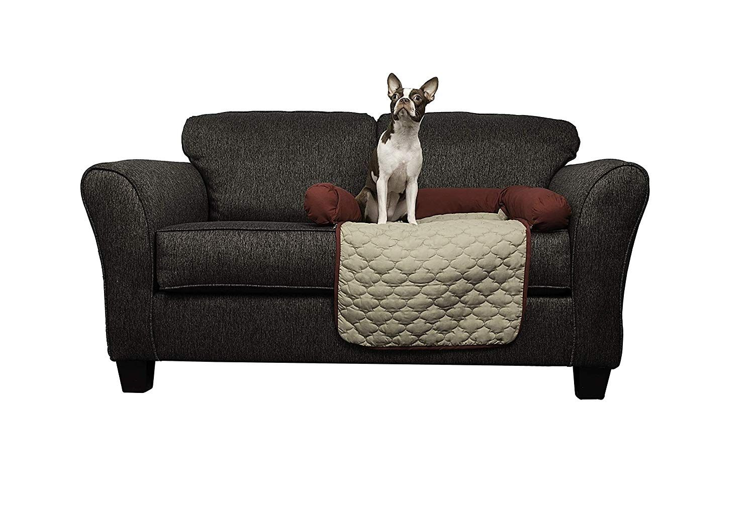 Quick Fit Wubba Reversible Pet Bed Couch Cover for Dogs