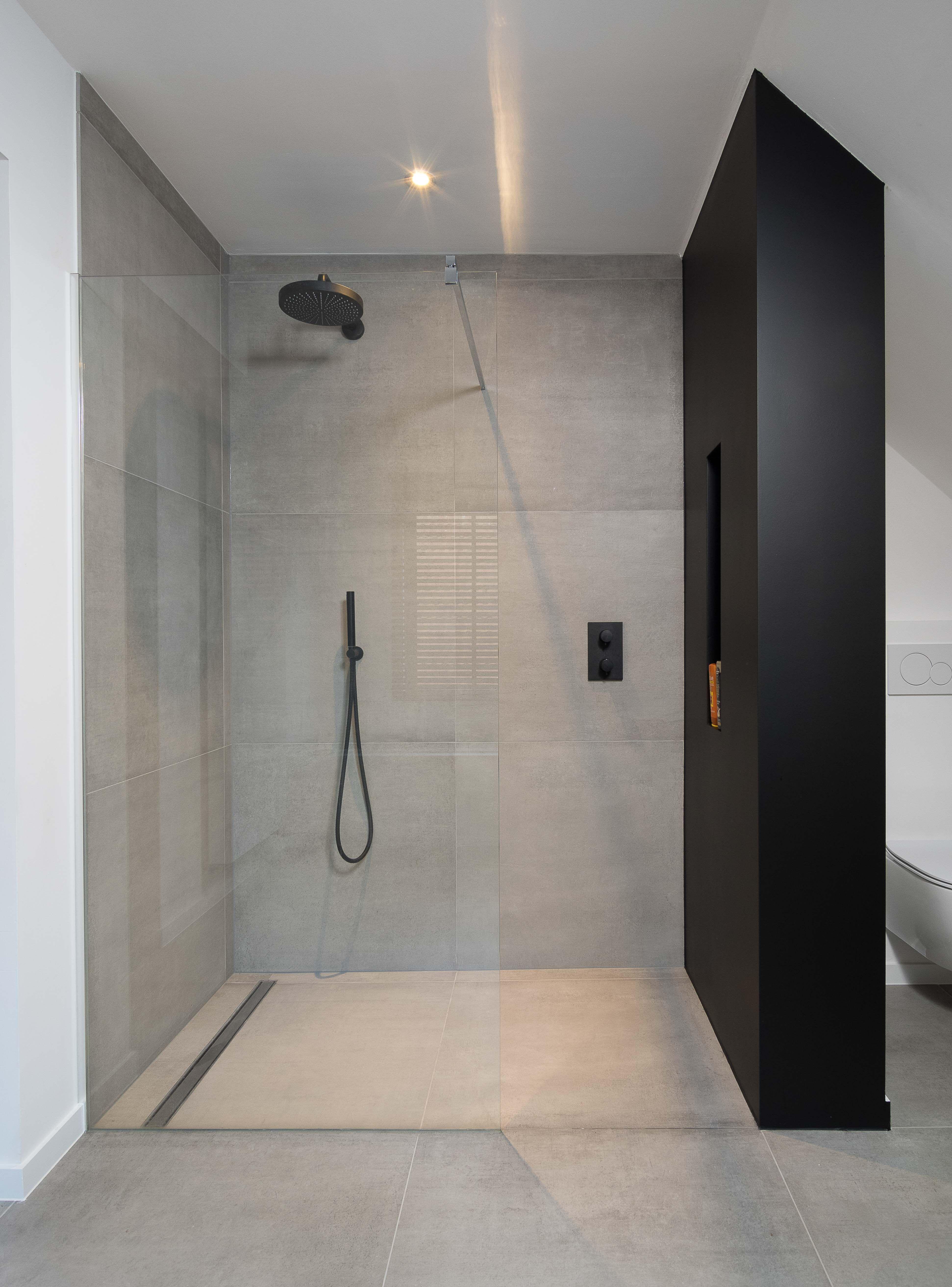 Badkamer Grote Tegels Badkamer Ontwerp Badkamer Badkamer Modern