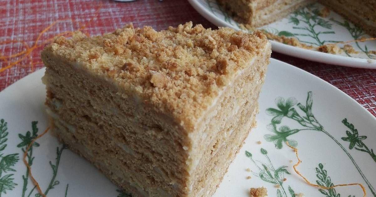 Торт Медовик пп версия | Рецепт | Торт, Фитнес торт ...