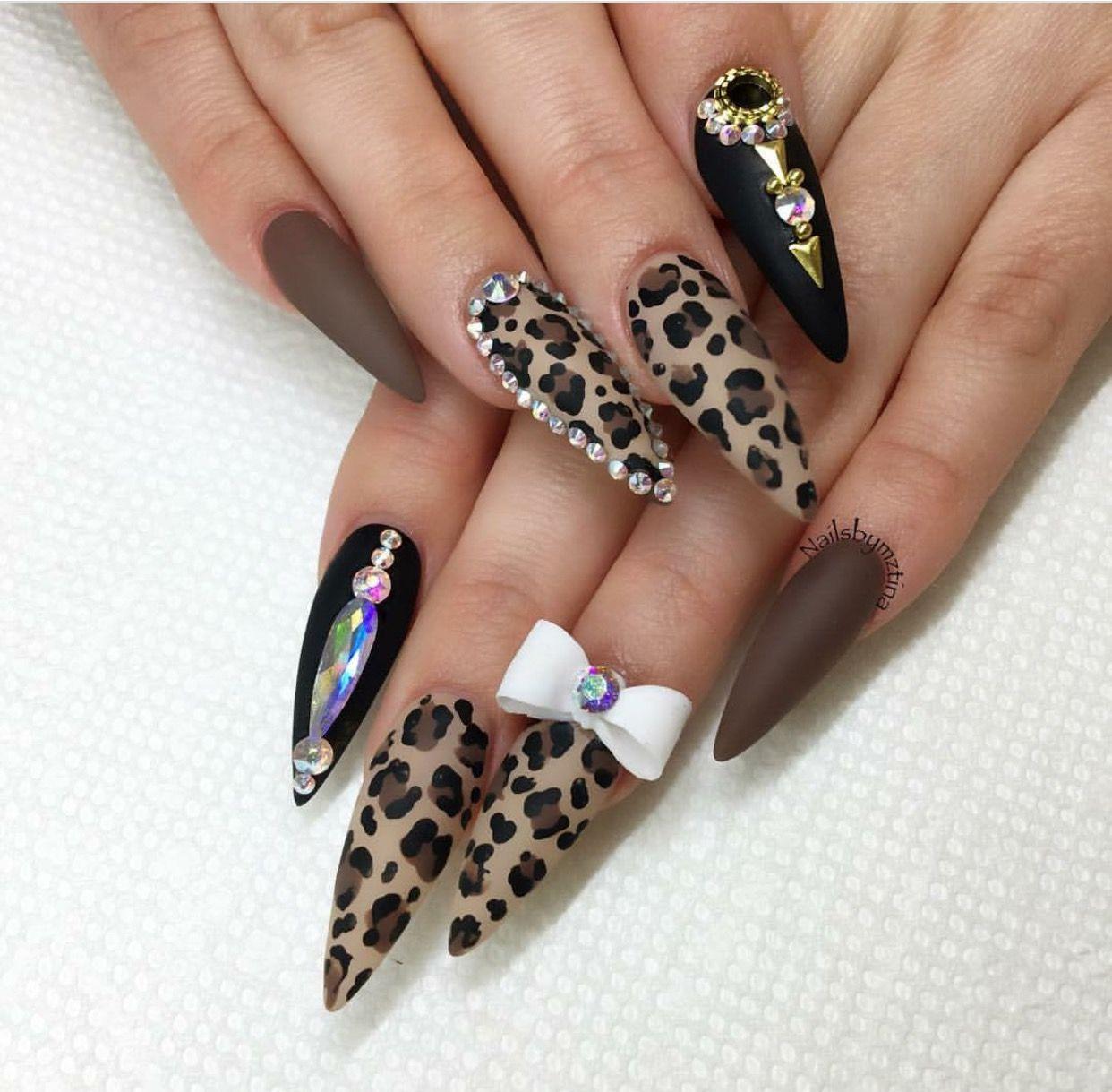 Pinterest @Hair,Nails,And Style Done By : Tina ‼ | Uñas acrílico ...